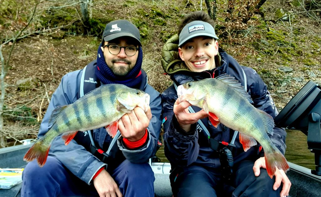 Perches, Cantal, Moniteur Guide de pêche, Simon Delos